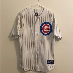 Chicago Cubs white jersey